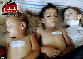 Syrian use of poison gas