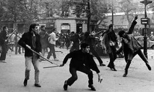 French student revolution 1958