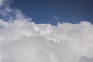 Nuvole, vista aerea