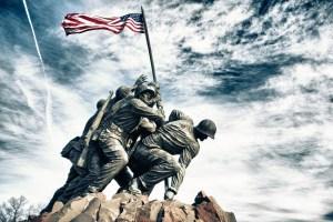 Marine Corps War Memorial (also called the Iwo Jima Memorial)