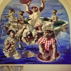 Mural in LOC 2a