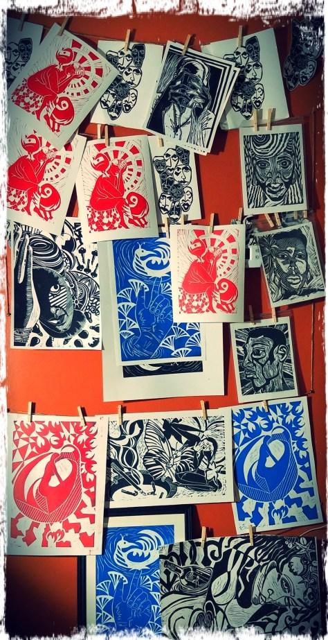 Print Drying Wall