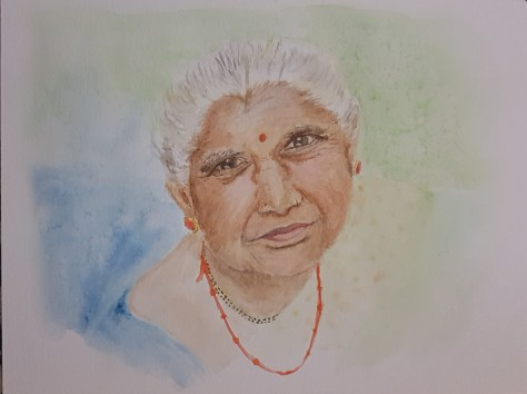 Indian Lady Sushmita Kolhapurkar