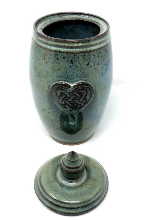 Celtic Heart Jar Lynn Pennington