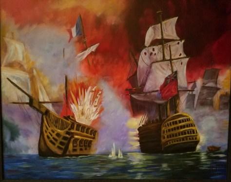 Red Sky in Morning, Sailor Take Warning Liz Wallace