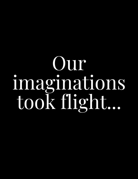 our imaginations
