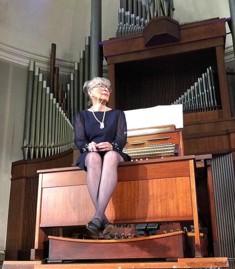 The Organist-Dr. Joyce Fench Johnson Furery Terriy Reid