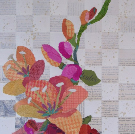 A Checkered Past But A Rosy Future Triptych 3 Jane Kelley
