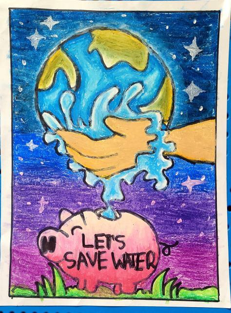 Rishi Janakiraman Let's Save Water