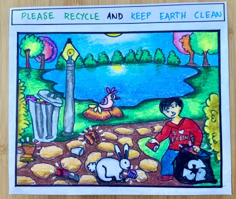 Yugauv Charan Please Recycle and Keep the Earth Clean