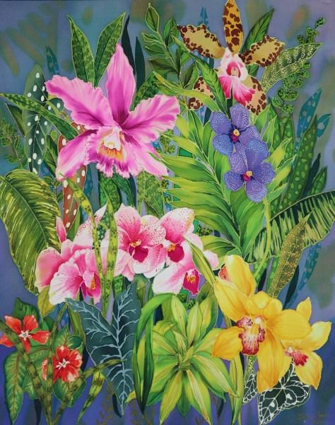 Leslie Todder Assorted Orchids
