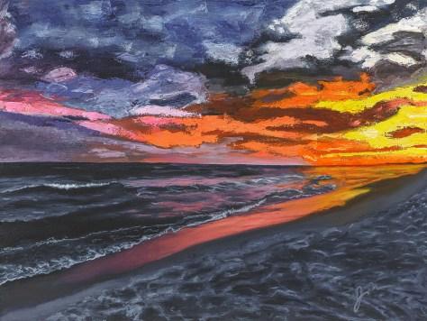 Jim Forester Destin Sunset