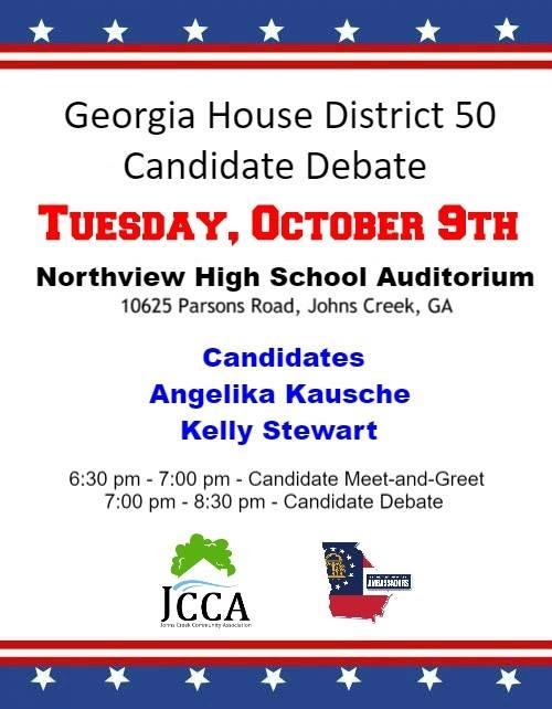 State Rep 50 Debate