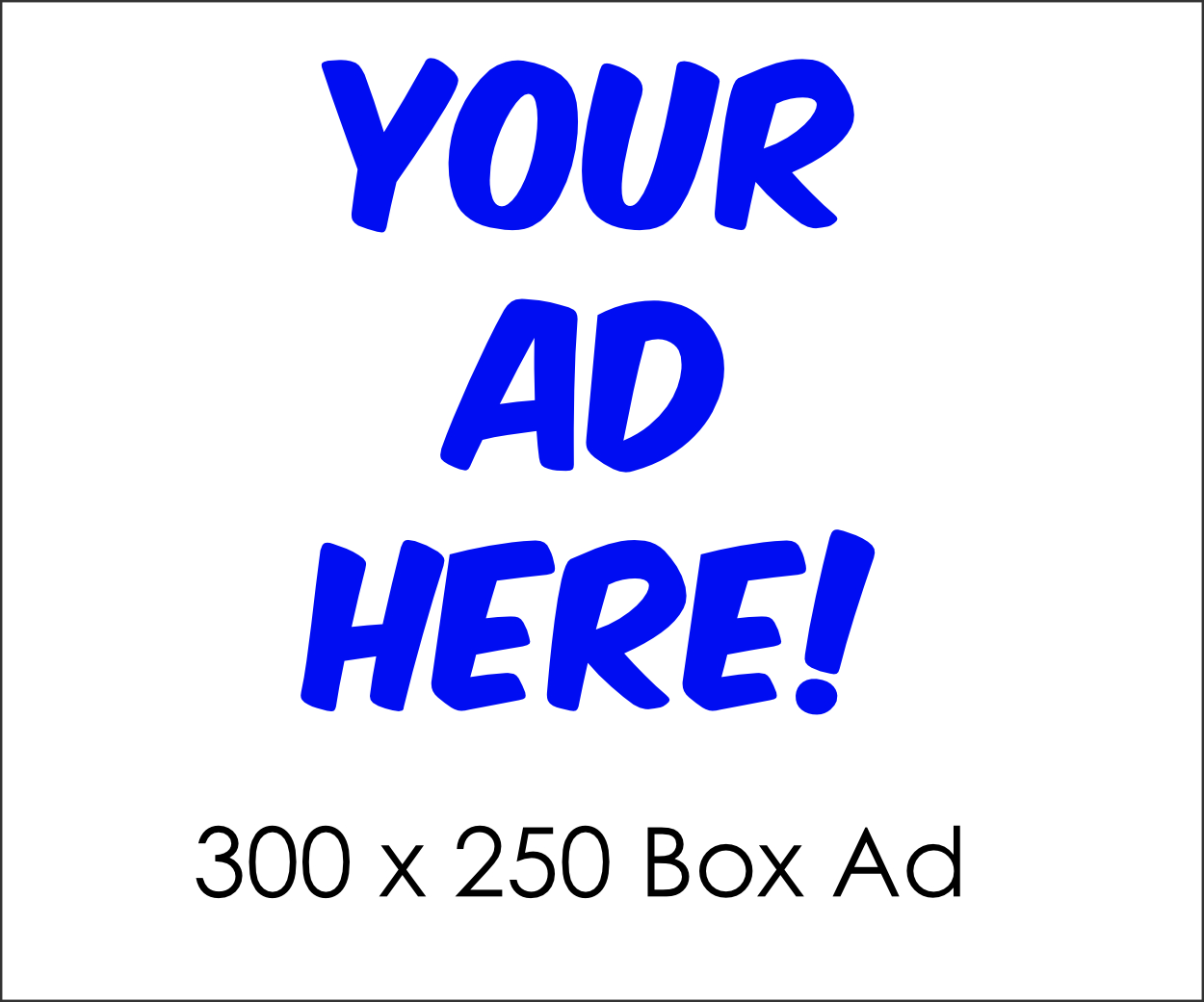 Box Ad - Advertising on Johns Creek Post