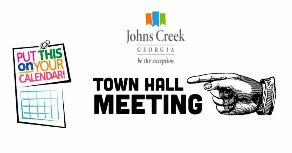 Johns Creek Town Hall meeting Johns Creek Post