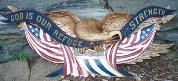 Carving John Bellamy's $660,000 Eagle