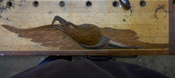 Original Bellamy Eagle Repair / Restoration / Conservation
