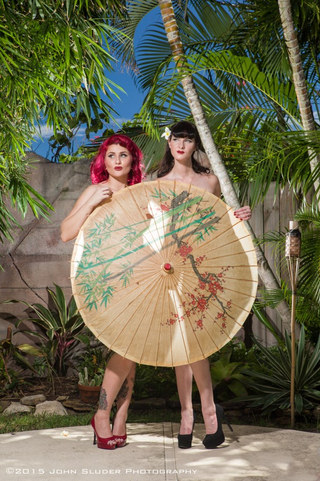 Tiki Pin Up Shoot