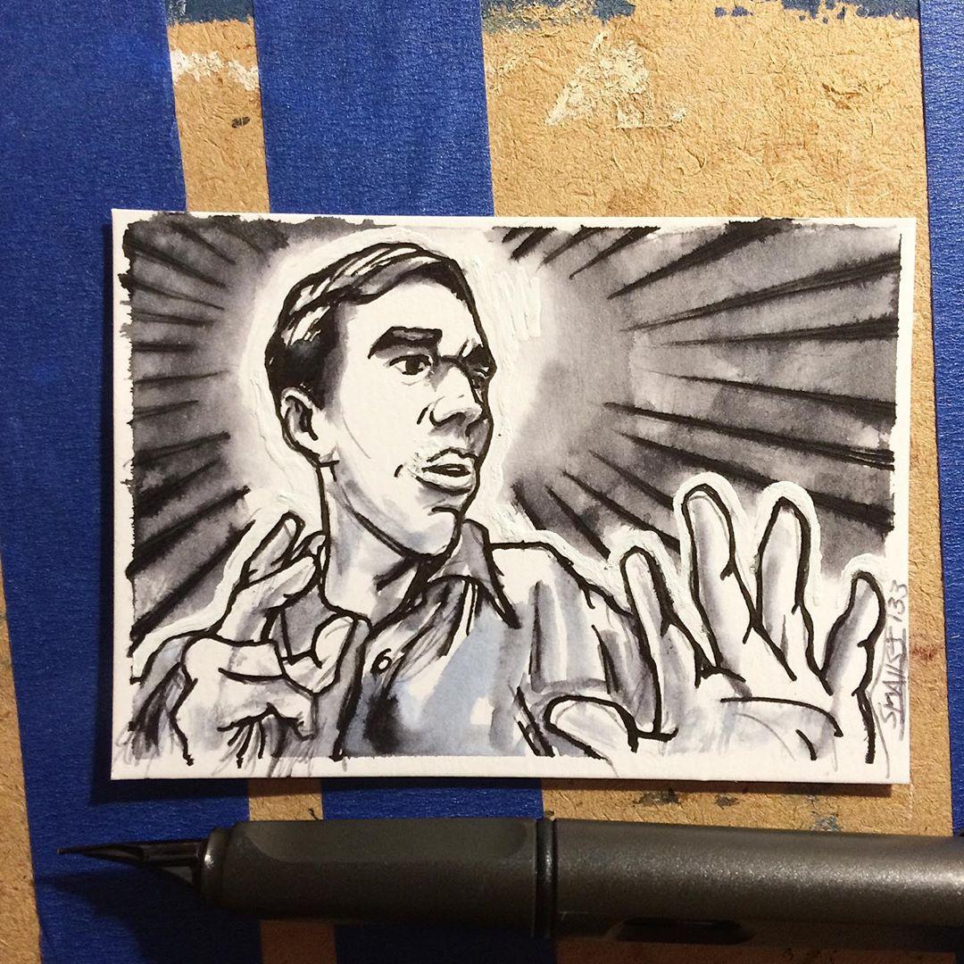 Beto O'Rourke  #Sketchcard 133
