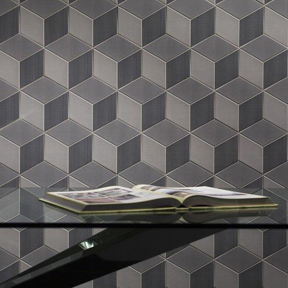 Johnson Tiles Absolute Collection Avoir Graphite Dcor