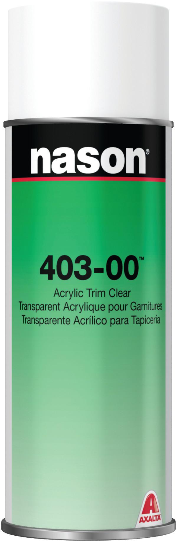 Axalta Nason 403 00 Acrylic Trim Clear