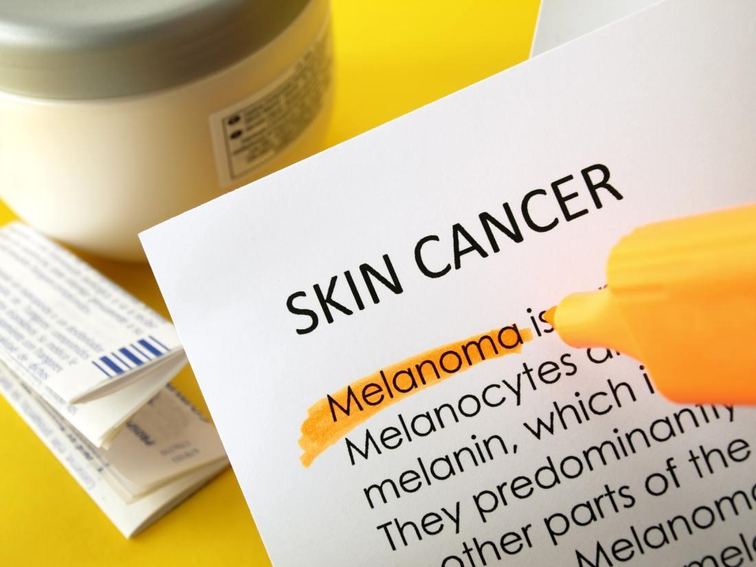 Image of paper detailing Skin Cancer Melanoma