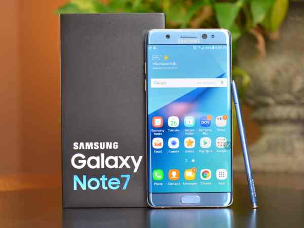 Samsung Galaxy Note 7 Lawsuit