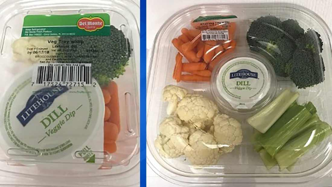 del monte vegtable tray recall lawsuit lawyer