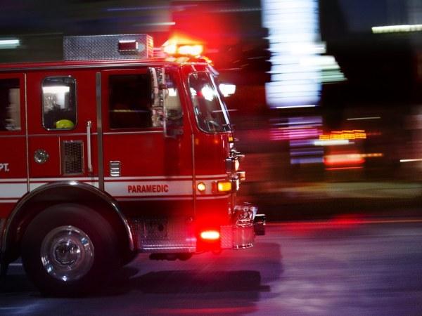 PAM Cooking Spray Paramedic Burn Fire Truck