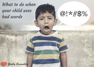Dealing with bad language (godly parenting)