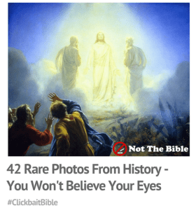 Clickbait Bible