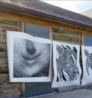 Extreme printmaking