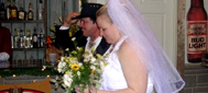 Gail and John get married