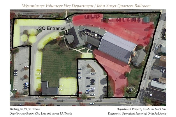 Westminster Volunteer Fire Department Facility Map