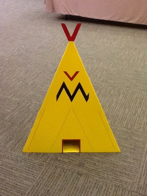 Mini Golf TeePee