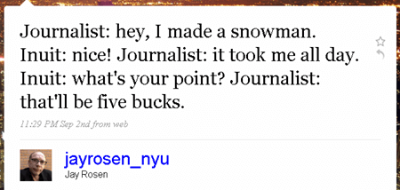 Jay Rosen on Twitter