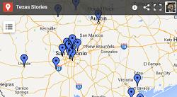 Google map of a reporter's career   John Tedesco
