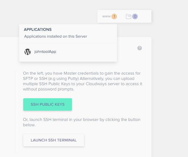 enter application