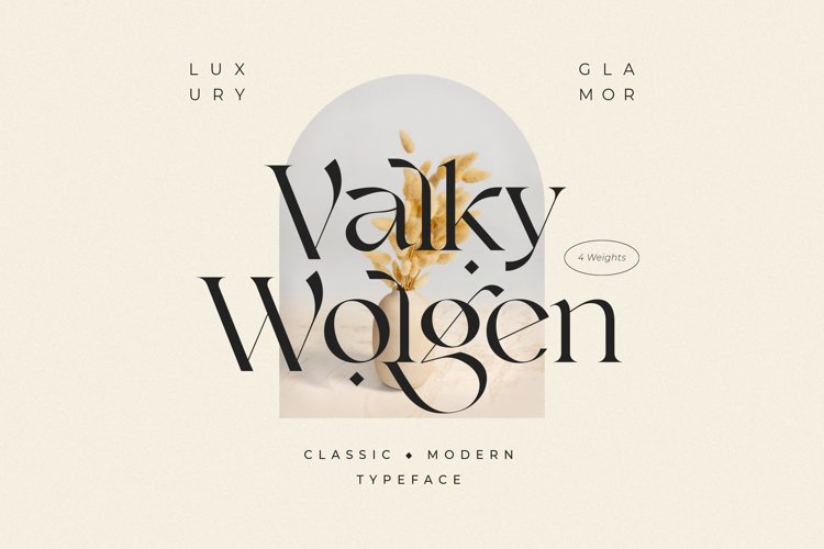 Valky Classic Font