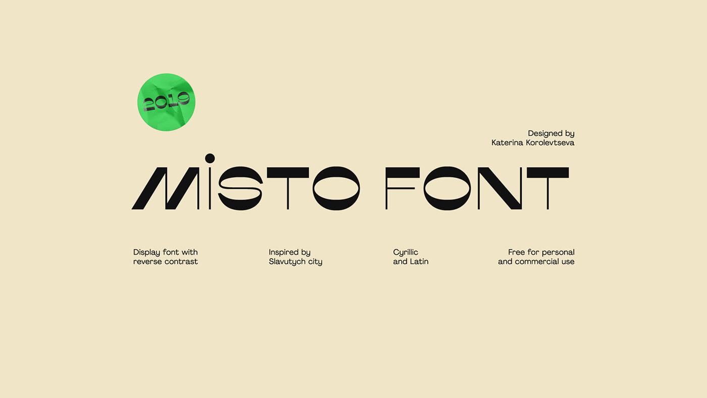 Misto Font