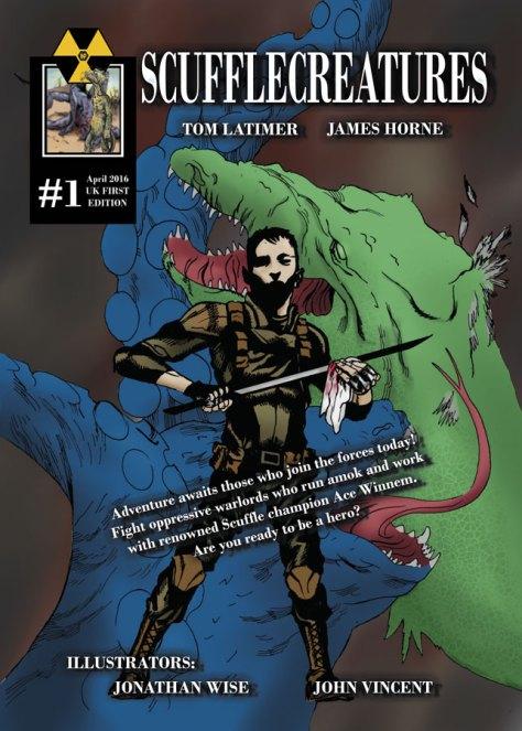 'Scufflecreatures #1', ©WP Comics Ltd