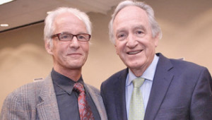 John Weeks With US Senator Tom Harkin