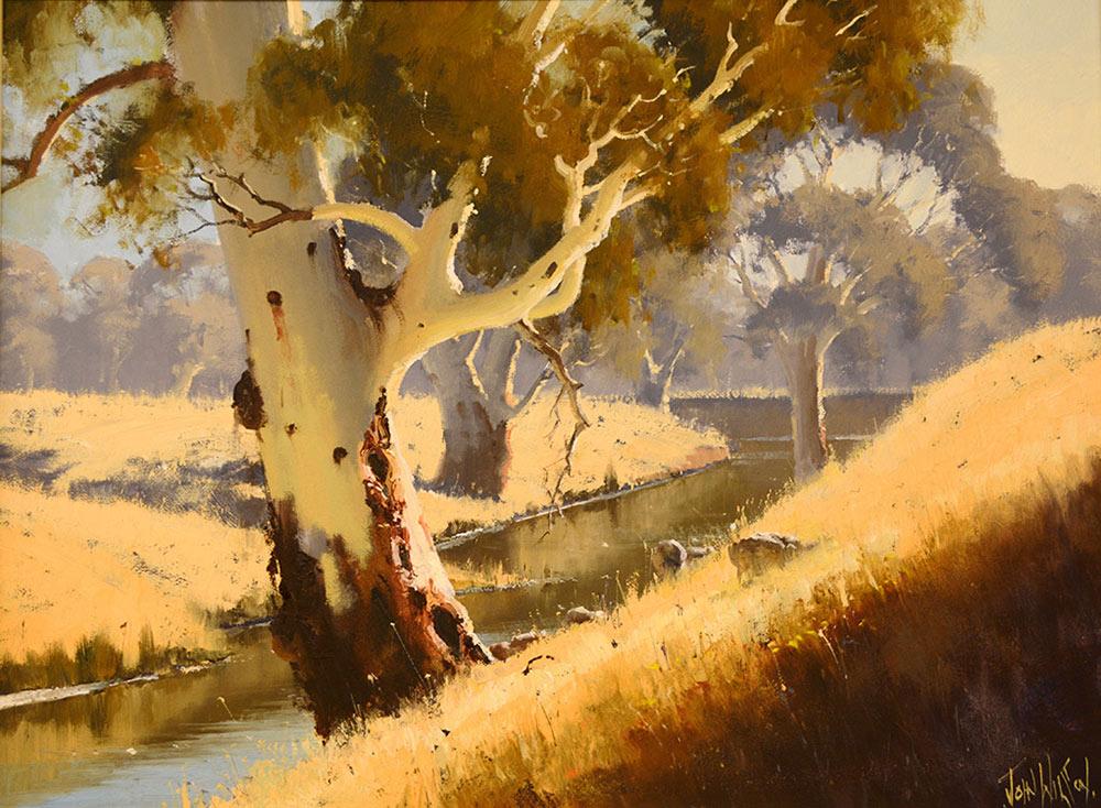 Australian Landscape Paintings By John Wilson