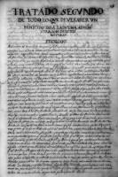 Tratado segvndo de todo lo qve deve saber vn mínístro para la bvena admínístraçión de estos natvrales