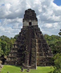 Tikal Central Complex Temple II