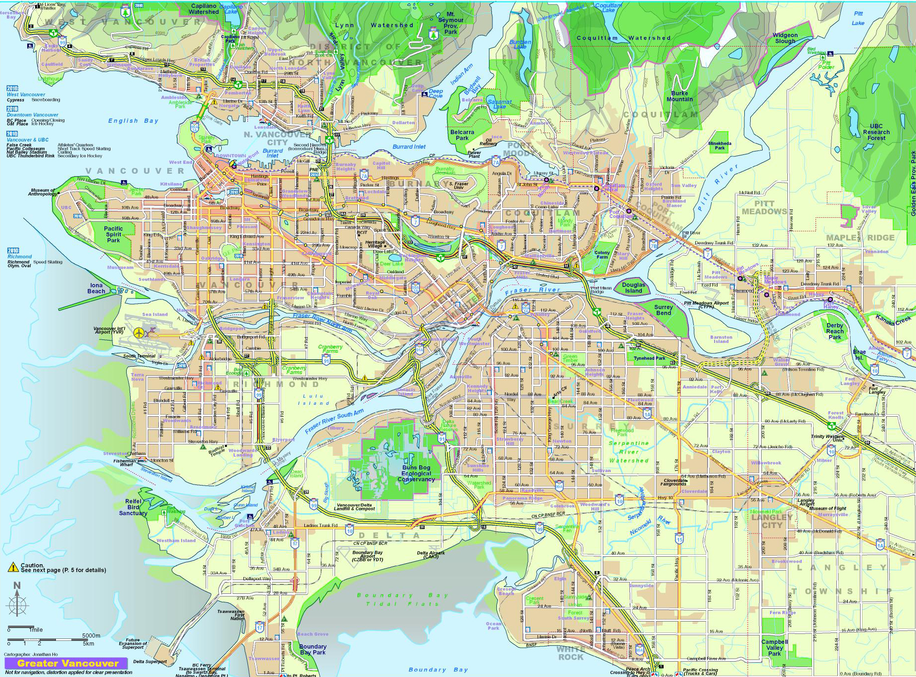 Image result for map of vancouver