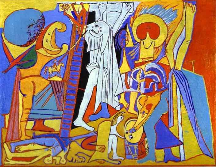 Pablo Picasso. Crucifixion.