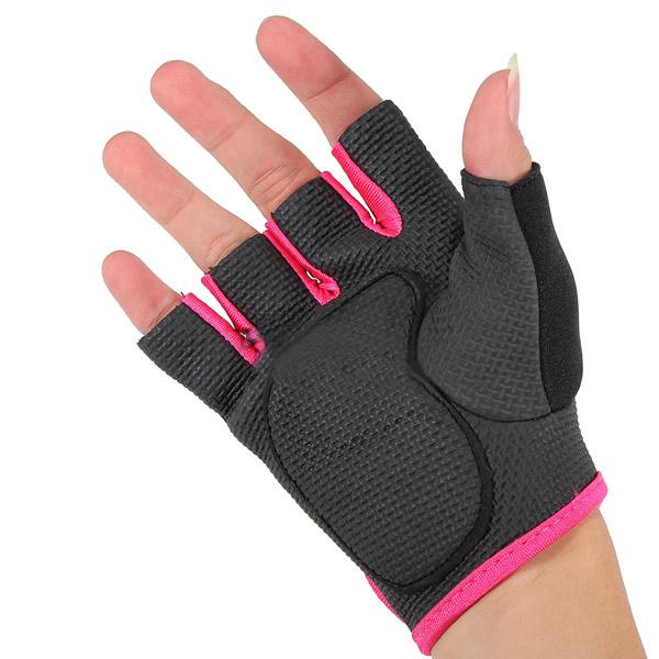 Female exercise gloves
