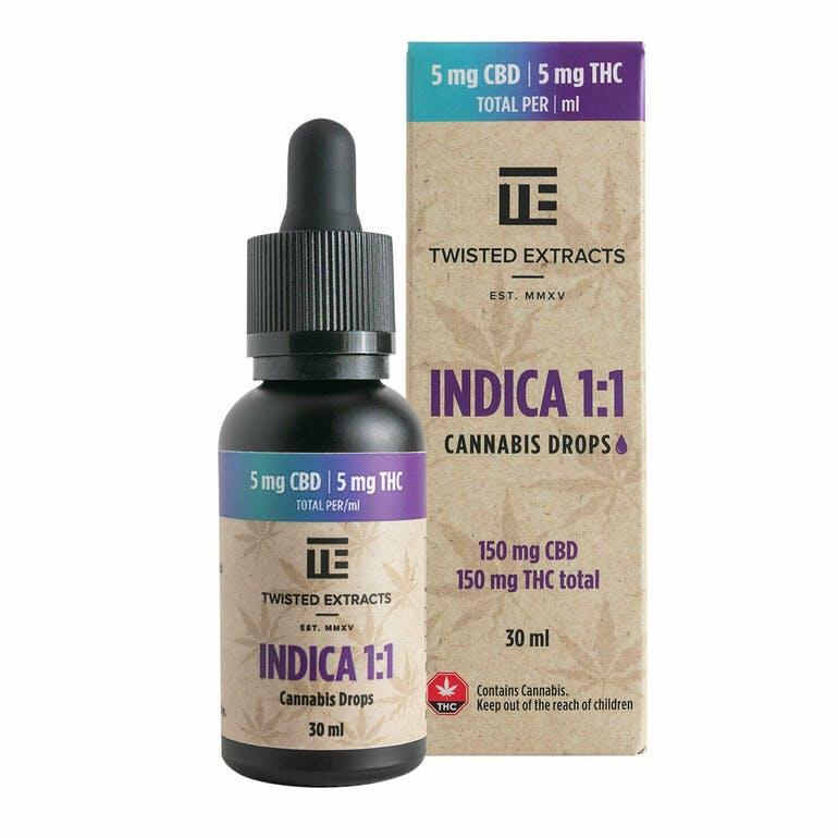 Oil Drop Cannabis Indica 1:1