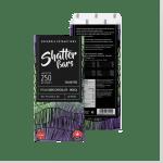 Vegan Dark Chocolate Indica 250mg Shatter Bar